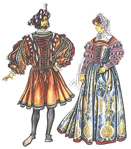 Картинки платьев которые носили при дворе
